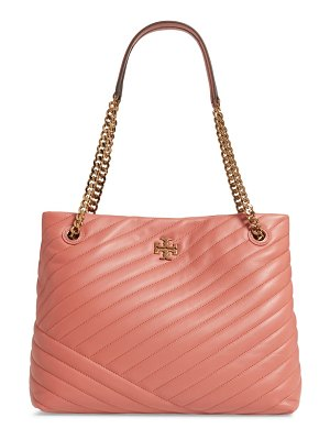 Tory Burch kira chevron quilted leather tote