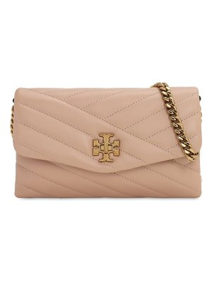 Tory Burch Kira quilted leather chain wallet bag