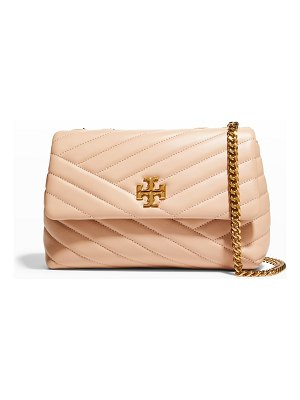 Tory Burch Kira Small Convertible Chevron Quilted Shoulder Bag
