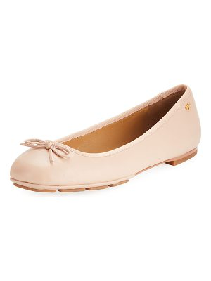 Tory Burch Laila 2 Leather Driver Ballet Flat