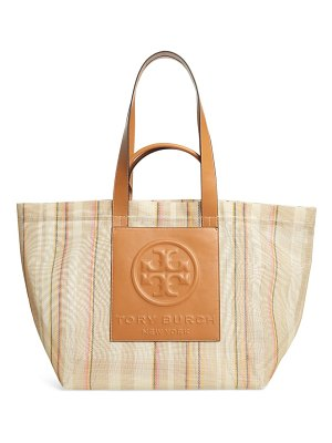 Tory Burch large perry mesh tote