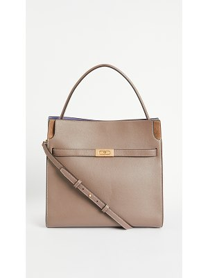 Tory Burch lee radziwill double bag