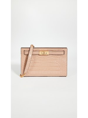 Tory Burch lee radziwill embossed shoulder bag