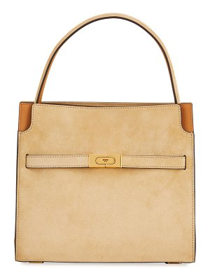Tory Burch Lee Suede Shoulder Bag