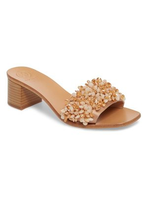 TORY BURCH Logan Embellished Slide Sandal