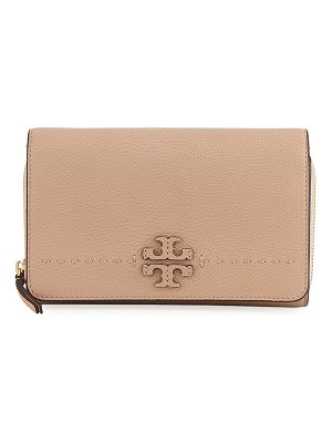 Tory Burch McGraw Flat Crossbody Wallet Bag