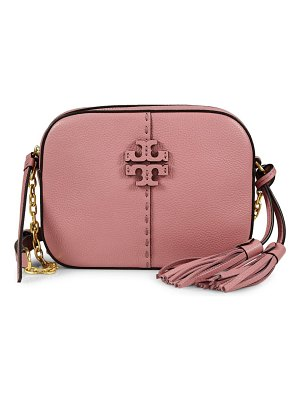 Tory Burch mcgraw leather camera bag