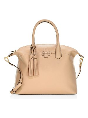 TORY BURCH Mcgraw Leather Slouchy Satchel