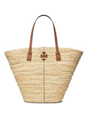 Tory Burch mcgraw straw tote