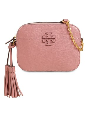 Tory Burch Mcgrow leather camera bag
