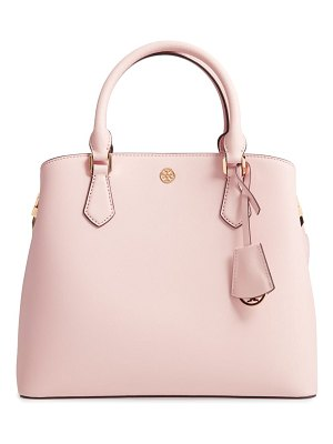 Tory Burch medium robinson leather triple compartment bag