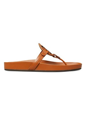 Tory Burch miller cloud leather thong slides