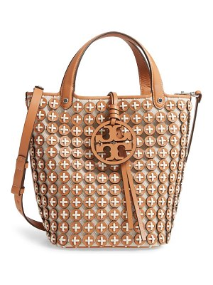 Tory Burch miller leather chainmail tote
