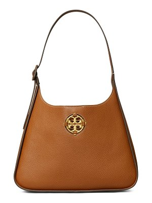 Tory Burch miller leather hobo bag