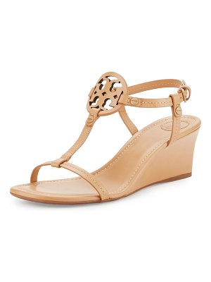 Tory Burch Miller Logo 60mm Wedge Sandals
