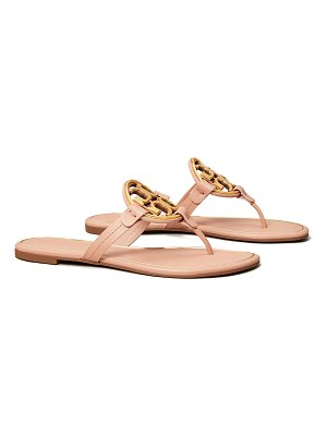 Tory Burch Miller Logo Thong Flat Sandals