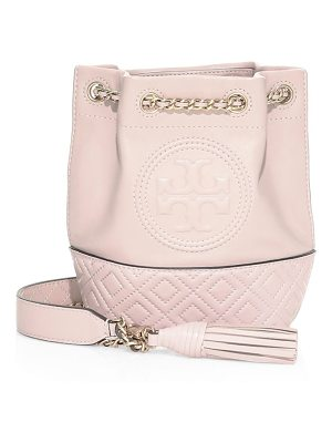 Tory Burch mini fleming leather bucket bag