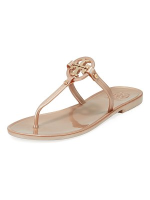 Tory Burch Mini Miller Flat Jelly Thong Sandals