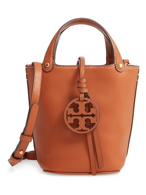 Tory Burch mini miller leather bucket bag