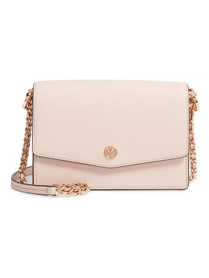 Tory Burch mini robinson leather shoulder bag