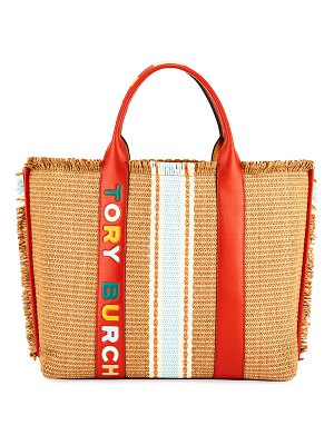 Tory Burch Perry Oversized Logo Tote Bag