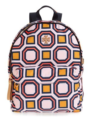 TORY BURCH Print Nylon Backpack