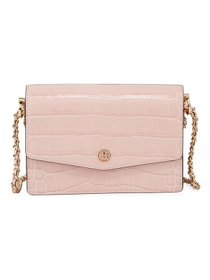 Tory Burch Robinson Embossed Mini Shoulder Bag