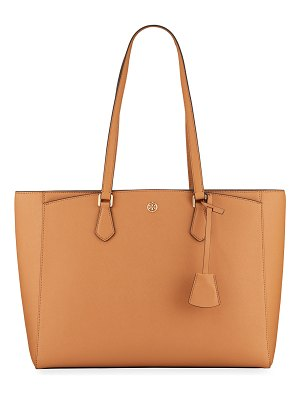 Tory Burch Robinson Small Saffiano Tote Bag