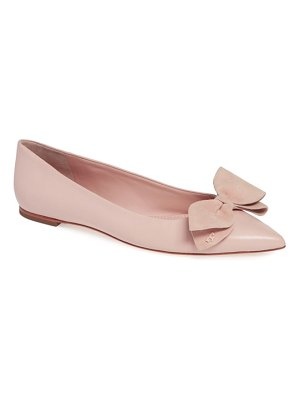 Tory Burch rosalind bow pointy toe flat