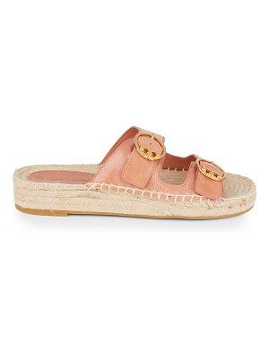 Tory Burch selby two-band espadrille leather sandals