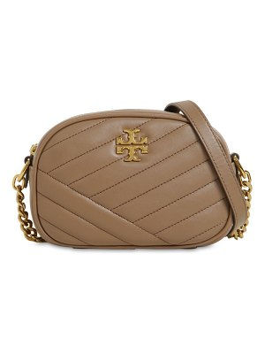 Tory Burch Sm kira chevron leather camera bag