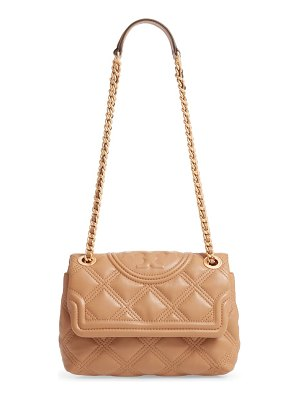 Tory Burch small fleming distressed convertible shoulder bag