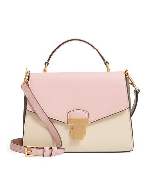 Tory Burch small juliette colorblock leather satchel
