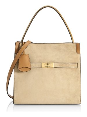 Tory Burch small lee radziwill leather satchel