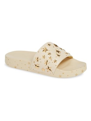 Tory Burch studded star slide