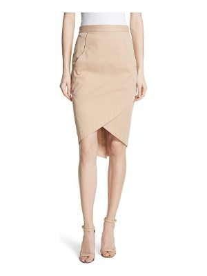 Tracy Reese faux wrap pencil skirt