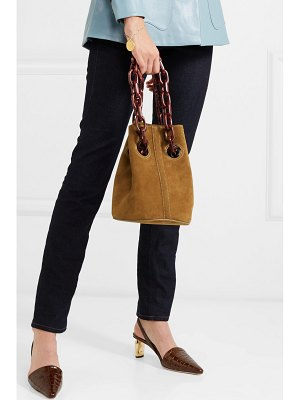 TRADEMARK goodall suede bucket bag
