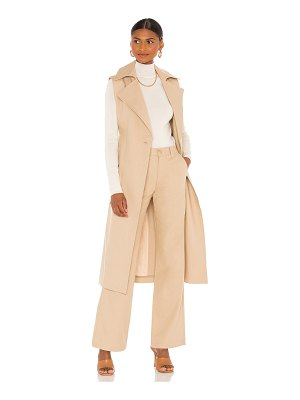 TRAVE chelsea sleeveless trench