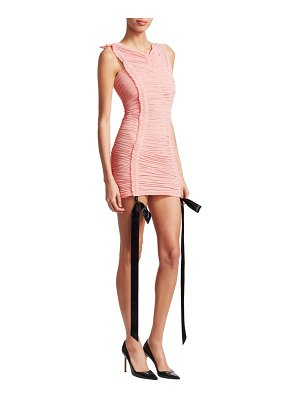 TRE by Natalie Ratabesi the cabaret ruched mini bodycon dress