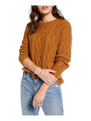 Treasure & Bond cable knit sweater