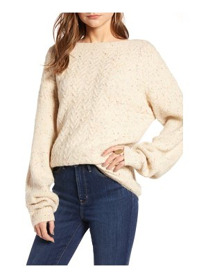 Treasure & Bond cable stitch sweater