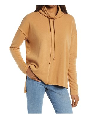 Treasure & Bond cowl tie neck sweatshirt