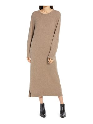 Treasure & Bond crewneck long sleeve sweater dress