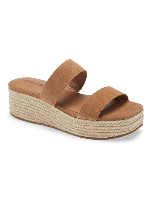 Treasure & Bond fatima platform slide sandal