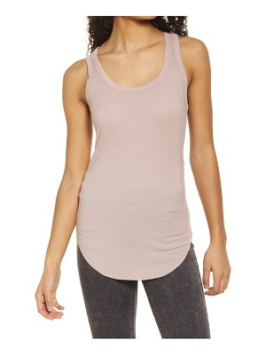 Treasure & Bond ribbed racerback tank
