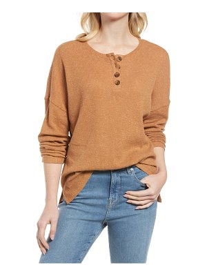 Treasure & Bond thermal henley top