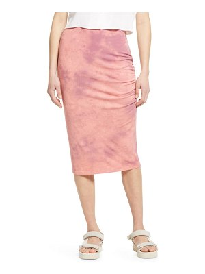 Treasure & Bond tie dye midi skirt