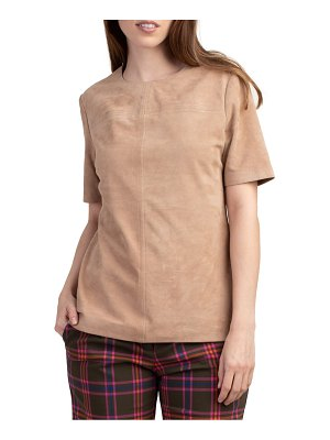 Trina Turk adapt suede top