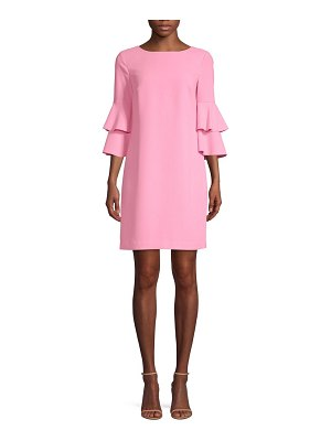 Trina Turk leona ruffle sleeve dress