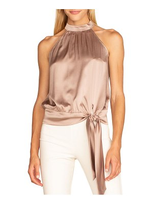Trina Turk satin cocktail top